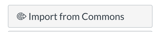 Import from Commons button in Canvas