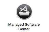 Icon for the Managed Software Center application.